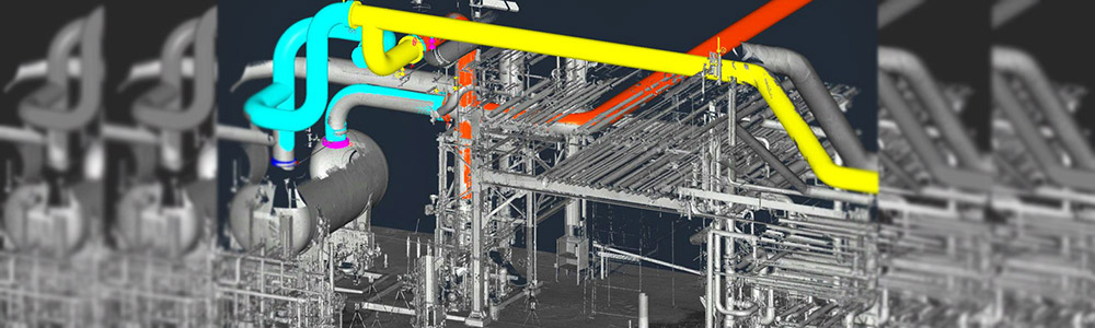 3D Laser Scan - Piping